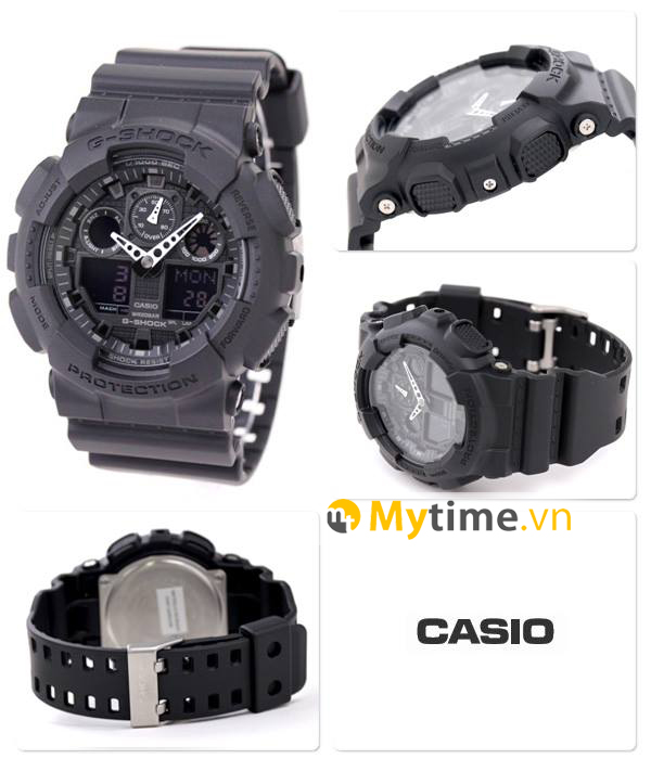Đồng hồ Caiso G-Shock GA-100-1A1HDR