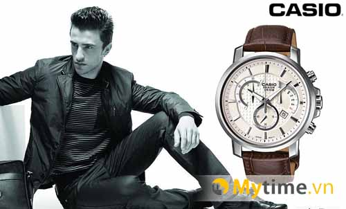 đồng hồ casio Beside Brown cao cấp