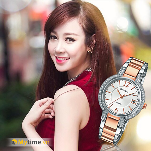 Đồng hồ nữ Casio SHE-4805SG-7AUDR